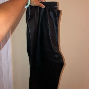 Black Leather Pants Forever 21